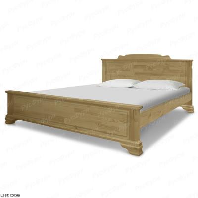 Кровать из массива сосны ВМК-Шале Клеопатра 160 см