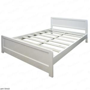Кровать из массива сосны Мантра шириной 140 см