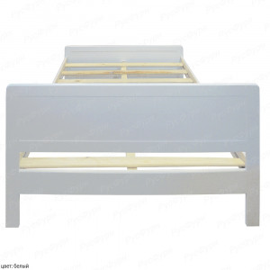 Кровать из массива сосны ВМК-Шале Мантра 90 см