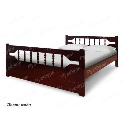 Кровать из массива сосны ВМК-Шале Морфей 140 см