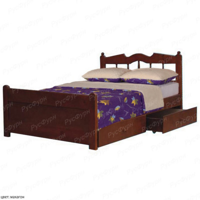 Кровать из массива сосны ВМК-Шале Николь 90 см