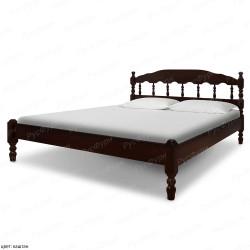 Кровать из массива сосны ВМК-Шале Никоя-2 140 см