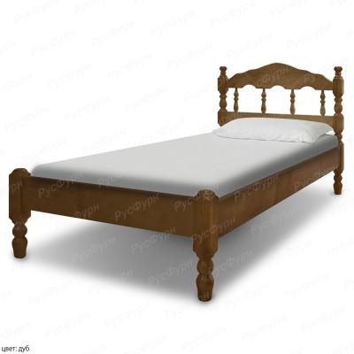 Кровать из массива сосны ВМК-Шале Никоя-2 90 см