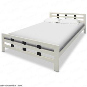 Кровать из массива сосны ВМК-Шале Оливия 120 см
