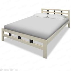 Кровать из массива сосны ВМК-Шале Оливия-2 140 см