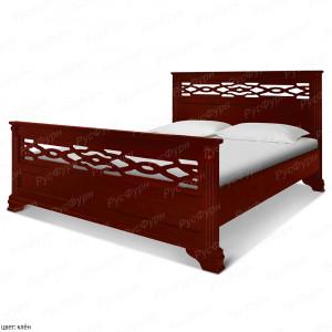 Кровать из массива сосны ВМК-Шале Пенелопа 120 см