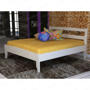 Кровать из массива сосны Полонез 3 шириной 180 см с ковкой
