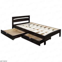 Кровать из массива сосны ВМК-Шале Ренессанс 90 см