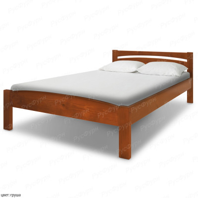 Кровать из массива сосны ВМК-Шале Ренессанс 160 см