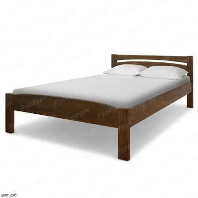 Кровать из массива сосны ВМК-Шале Ренессанс 180 см