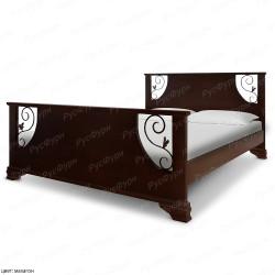 Кровать из массива сосны ВМК-Шале Ричард 140 см