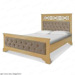 Кровать из массива сосны ВМК-Шале Шарлотта 160 см