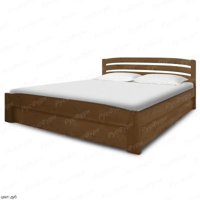 Кровать из массива сосны ВМК-Шале Сиена-2 180 см