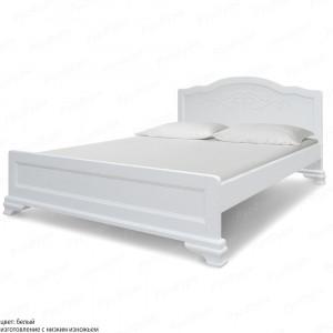 Кровать из массива сосны ВМК-Шале Солано 180 см