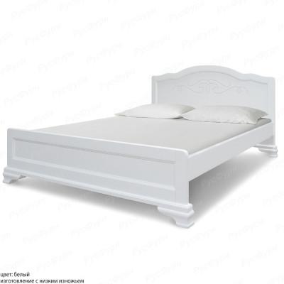 Кровать из массива сосны ВМК-Шале Солано 160 см