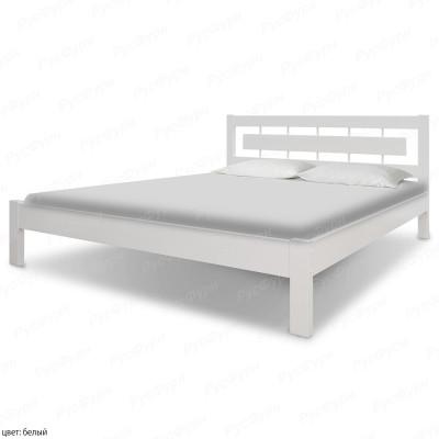 Кровать из массива сосны ВМК-Шале Соло 2 180 см