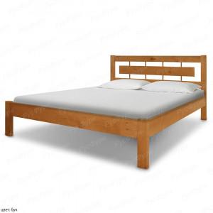 Кровать из массива сосны ВМК-Шале Соло 2 120 см