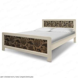 Кровать из массива сосны ВМК-Шале Стронг 180 см