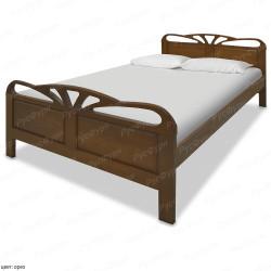 Кровать из массива сосны ВМК-Шале Тая 140 см