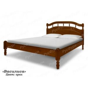 Кровать из массива сосны ВМК-Шале Василиса 120 см
