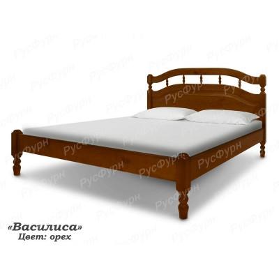 Кровать из массива сосны ВМК-Шале Василиса 90 см