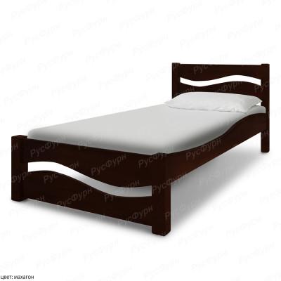 Кровать из массива сосны ВМК-Шале Вэлла 90 см