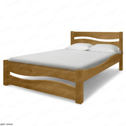 Кровать из массива сосны ВМК-Шале Вэлла 140 см