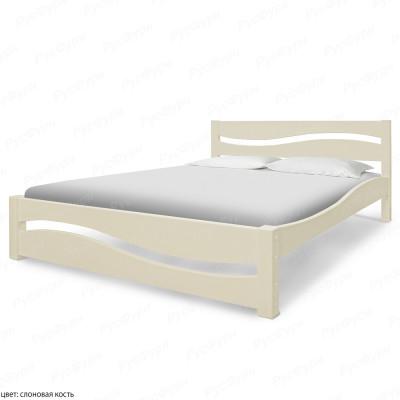 Кровать из массива сосны ВМК-Шале Вэлла 160 см