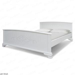 Кровать из массива сосны ВМК-Шале Веркара 140 см