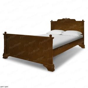 Кровать из массива сосны Виктория шириной 140 см