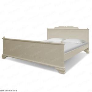 Кровать из массива сосны ВМК-Шале Виктория 160 см