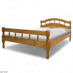 Кровать из массива сосны ВМК-Шале Хельга 1 90 см