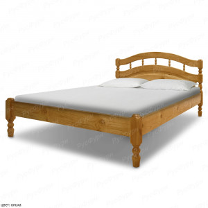 Кровать из массива сосны ВМК-Шале Хельга 2 160 см