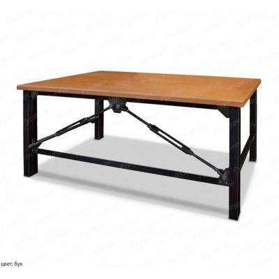стол на металлокаркасе ВМК-Шале Бруклин