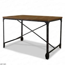 стол на металлокаркасе ВМК-Шале Хард
