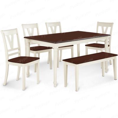Обеденный стол ВМК-Шале Холли комбинированный