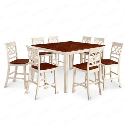 Обеденный стол ВМК-Шале Пауэлс комбинированный