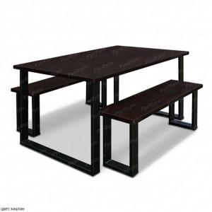 стол на металлокаркасе ВМК-Шале Рок