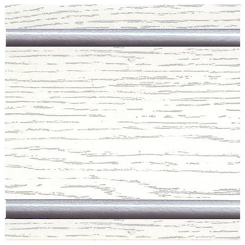 Тон 1 - Белый с серебряной патиной