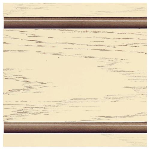 Тон 2 - Ваниль с коричневой патиной