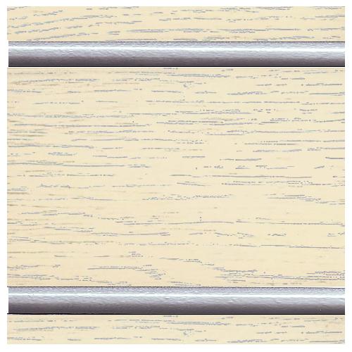 Тон 2 - Ваниль с серебряной патиной